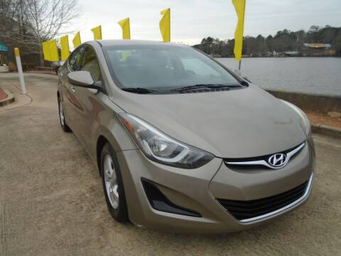 2014 Hyundai Elantra for sale at Lake Carroll Auto Sales in Carrollton GA