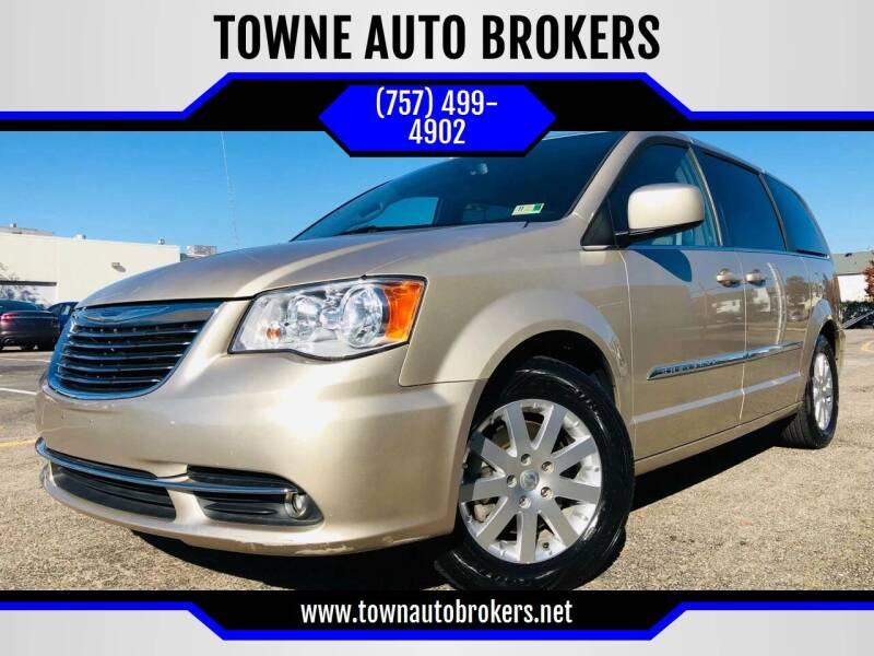 2016 Chrysler Town and Country for sale at TOWNE AUTO BROKERS in Virginia Beach VA
