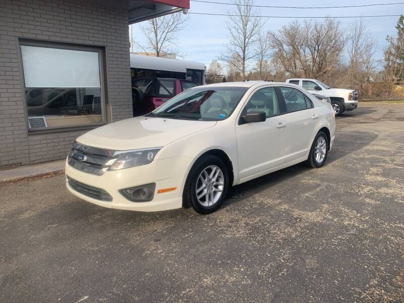 2012 Ford Fusion for sale at Townline Motors in Cortland NY