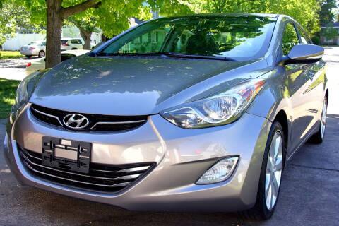 2013 Hyundai Elantra for sale at Prime Auto Sales LLC in Virginia Beach VA