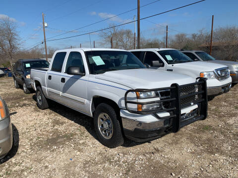 2007 Chevrolet Silverado 1500 Classic for sale at BULLSEYE MOTORS INC in New Braunfels TX
