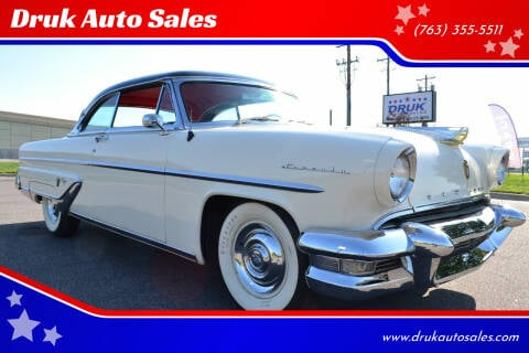 1955 Lincoln Capri for sale at Druk Auto Sales in Ramsey MN