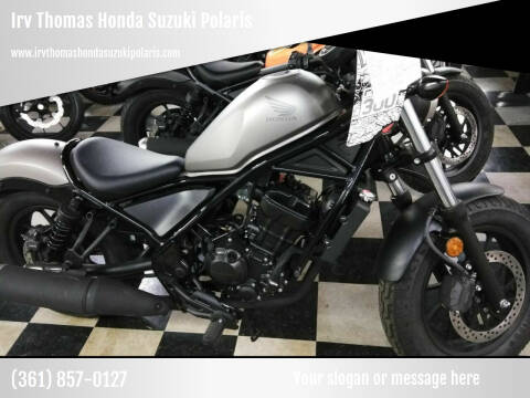 2019 Honda CMX300 REBEL for sale at Irv Thomas Honda Suzuki Polaris in Corpus Christi TX