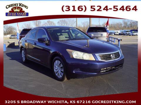 2010 Honda Accord for sale at Credit King Auto Sales in Wichita KS