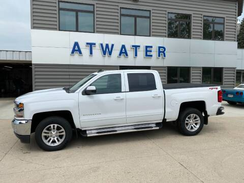 2018 Chevrolet Silverado 1500 for sale at Atwater Ford Inc in Atwater MN