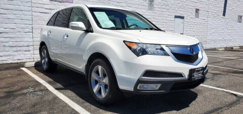 2013 Acura MDX for sale at ADVANTAGE AUTO SALES INC in Bell CA