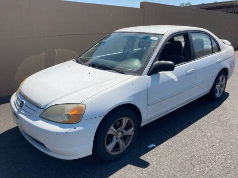 2003 Honda Civic for sale at Blue Line Auto Group in Portland OR