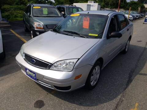 2006 Ford Focus for sale at Howe's Auto Sales in Lowell MA