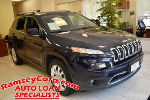 2015 Jeep Cherokee for sale at Ramsey Corp. in West Milford NJ