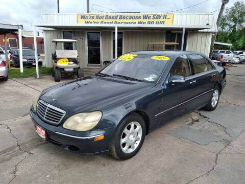 2001 Mercedes-Benz S-Class for sale at Taylor Trading Co in Beaumont TX