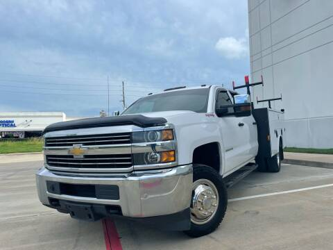 2015 Chevrolet Silverado 3500HD for sale at TWIN CITY MOTORS in Houston TX