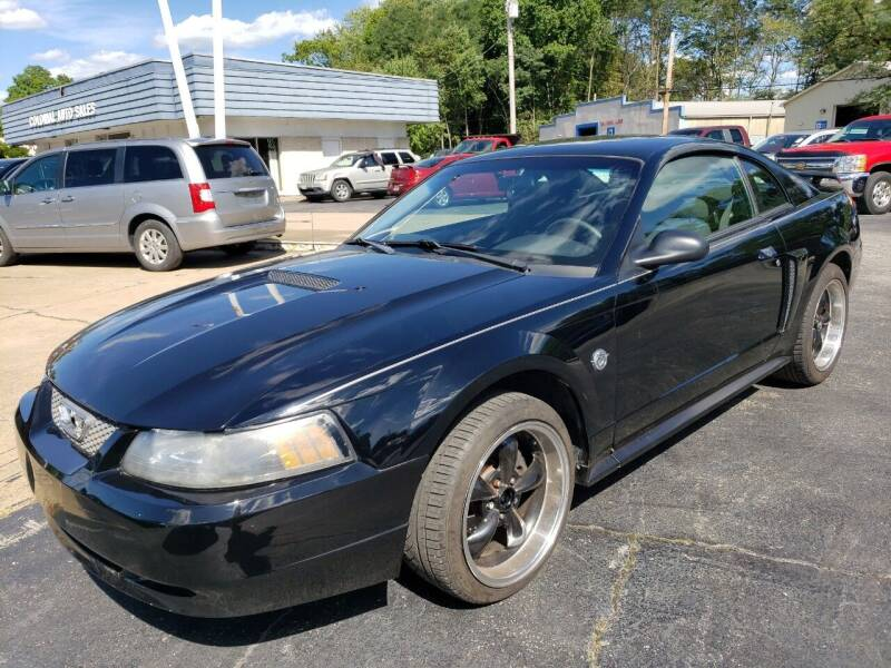 2004 Ford Mustang for sale at COLONIAL AUTO SALES in North Lima OH
