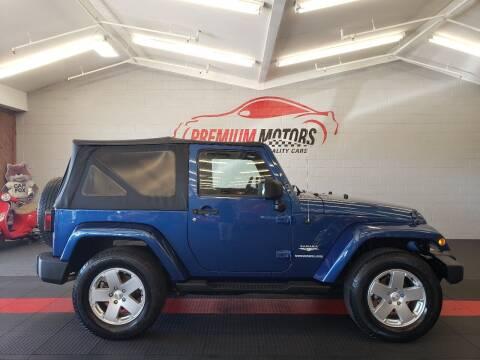 2010 Jeep Wrangler for sale at Premium Motors in Villa Park IL