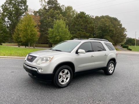 2010 GMC Acadia for sale at GTO United Auto Sales LLC in Lawrenceville GA