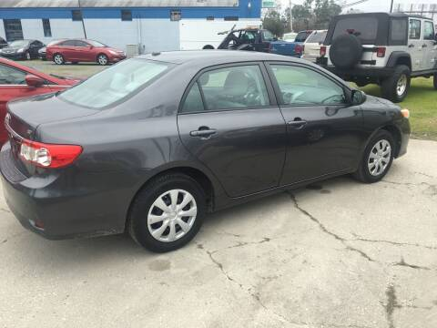 2011 Toyota Corolla for sale at LAURINBURG AUTO SALES in Laurinburg NC
