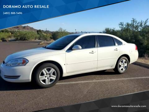 2007 Chevrolet Impala for sale at DORAMO AUTO RESALE in Glendale AZ