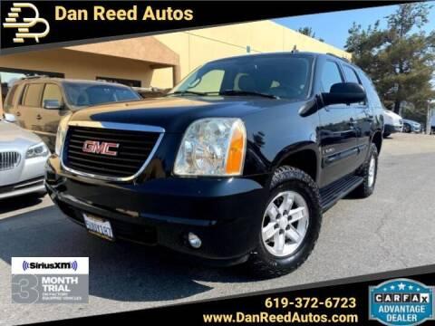 2007 GMC Yukon for sale at Dan Reed Autos in Escondido CA