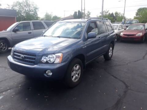2003 Toyota Highlander for sale at Flag Motors in Columbus OH