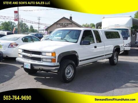 1998 Chevrolet C/K 2500 Series for sale at Steve & Sons Auto Sales in Happy Valley OR