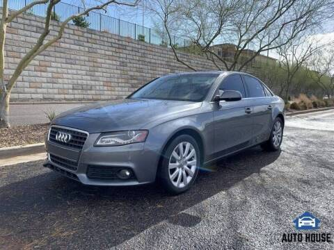 2012 Audi A4 for sale at MyAutoJack.com @ Auto House in Tempe AZ