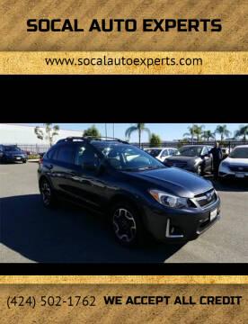 2017 Subaru Crosstrek for sale at SoCal Auto Experts in Culver City CA