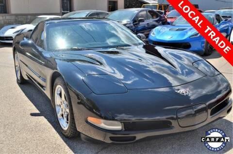 2003 Chevrolet Corvette for sale at LAKESIDE MOTORS, INC. in Sachse TX