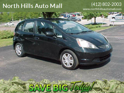 2010 Honda Fit for sale at North Hills Auto Mall in Pittsburgh PA