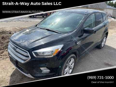 2017 Ford Escape for sale at Strait-A-Way Auto Sales LLC in Gaylord MI