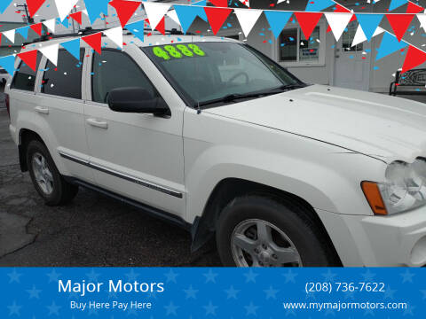 2006 Jeep Grand Cherokee for sale at Major Motors in Twin Falls ID