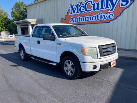 2010 Ford F-150 for sale at McCully's Automotive - Trucks & SUV's in Benton KY