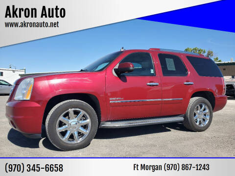 2011 GMC Yukon for sale at Akron Auto - Fort Morgan in Fort Morgan CO