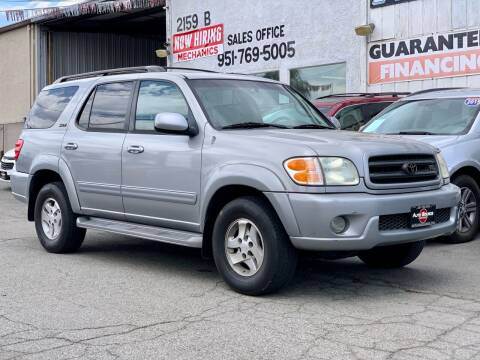 2003 Toyota Sequoia for sale at Auto Source in Banning CA