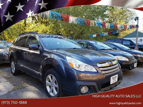 2013 Subaru Outback for sale at High Quality Auto Sales LLC in Bloomingdale NJ