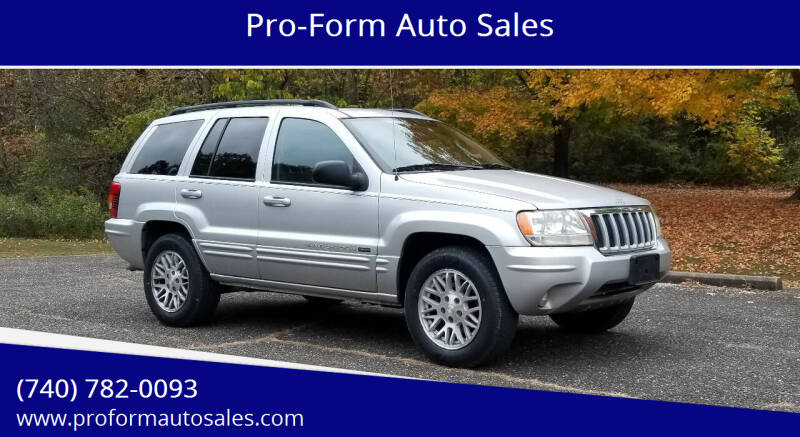 2004 Jeep Grand Cherokee for sale at Pro-Form Auto Sales in Belmont OH