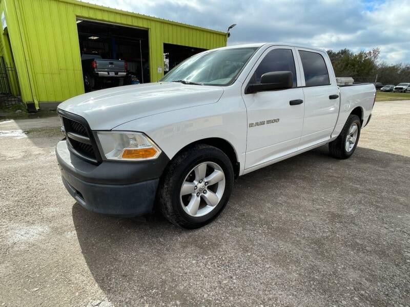 2012 RAM Ram Pickup 1500 for sale at RODRIGUEZ MOTORS CO. in Houston TX