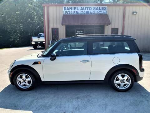 2009 MINI Cooper Clubman for sale at Daniel Used Auto Sales in Dallas GA