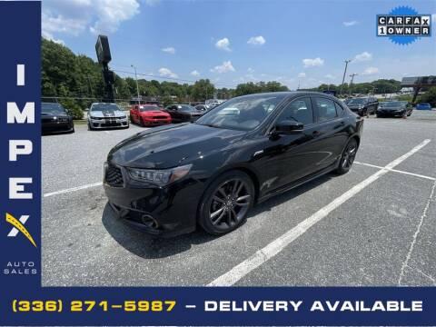 2019 Acura TLX for sale at Impex Auto Sales in Greensboro NC