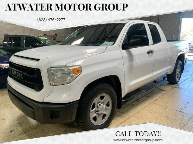 2014 Toyota Tundra for sale at Atwater Motor Group in Phoenix AZ