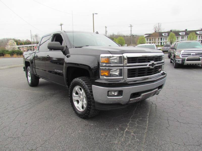 2014 Chevrolet Silverado 1500 for sale at Hibriten Auto Mart in Lenoir NC