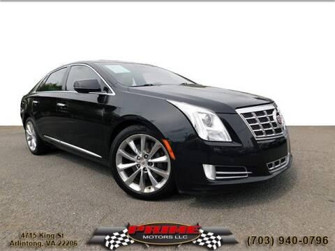 2013 Cadillac XTS for sale at PRIME MOTORS LLC in Arlington VA