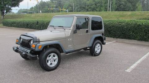 2003 Jeep Wrangler for sale at Best Import Auto Sales Inc. in Raleigh NC