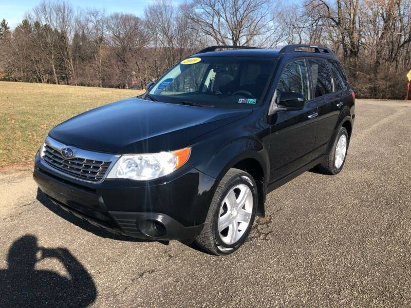 2009 Subaru Forester for sale at Hutchys Auto Sales & Service in Loyalhanna PA