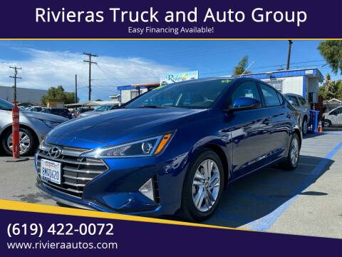 2020 Hyundai Elantra for sale at Rivieras Truck and Auto Group in Chula Vista CA