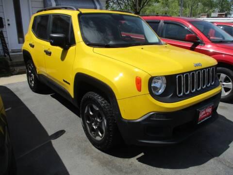 2017 Jeep Renegade for sale at GENOA MOTORS INC in Genoa IL
