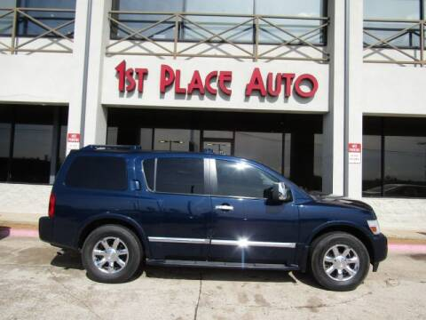 2007 Infiniti QX56 for sale at First Place Auto Ctr Inc in Watauga TX