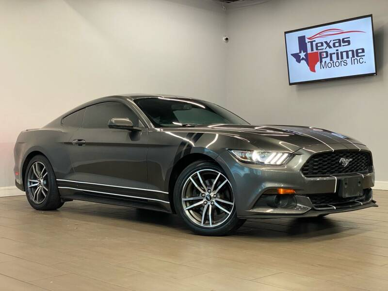 2016 Ford Mustang for sale at Texas Prime Motors in Houston TX