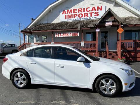 2013 Chevrolet Cruze for sale at American Imports INC in Indianapolis IN