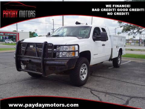 2011 Chevrolet Silverado 3500HD for sale at Payday Motors in Wichita KS