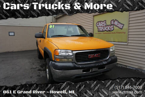 2001 GMC Sierra 2500HD for sale at Cars Trucks & More in Howell MI