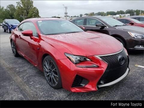 2015 Lexus RC F for sale at BOB ROHRMAN FORT WAYNE TOYOTA in Fort Wayne IN